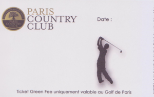 Forfait Paris Golf Country Club - PGCC